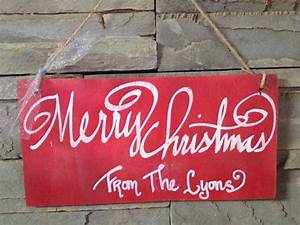 Merry, Christmas, Sign