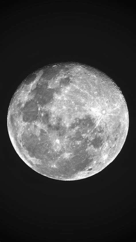 Black Wallpaper Iphone Moon by
