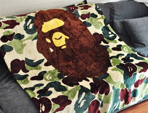 bape bed sheets knitted porters achetez des lots 224 petit prix knitted