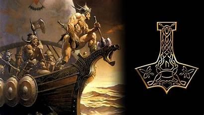 Wallpapers Asgard Viking Background Cool Ship 4kwallpaper