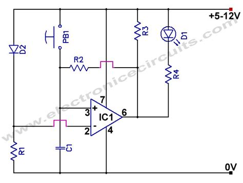 Power Supply Failure Indicator Circuit Electronic Circuits