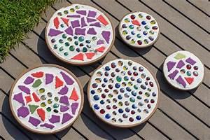 Mosaik Basteln Mit Kindern : diy mosaik deko f r den garten do it yourself ~ Lizthompson.info Haus und Dekorationen