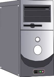 computer case clip art  clkercom vector clip art