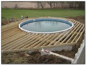 Swimming pool deck ideas above ground decks home for Above ground swimming pool deck designs