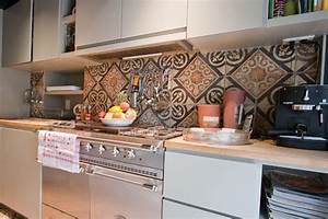 Crédence De Cuisine Originale : d co carrelage cuisine ~ Premium-room.com Idées de Décoration