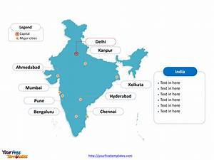 india map ppt template best template idea With india map ppt template