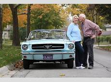 First Ford Mustang Ever Sold Still with its Original Owner
