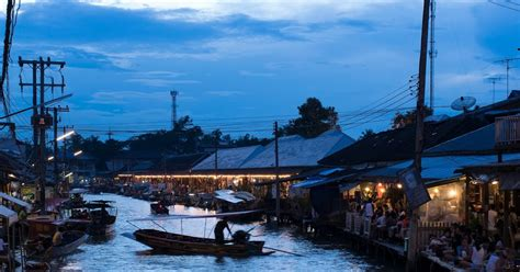 Floating Boat Perlis by Crisp Of Bangkok Mae Khlong Railway Market And