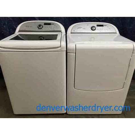 used front load washer and dryer whirlpool cabrio platinum washer dryer set 2630