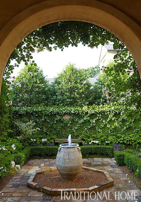 Picturesque Courtyard Garden by Gardening Picturesque Courtyard Garden