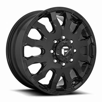 Dually Fuel Blitz Wheels D675 Gloss Wheel