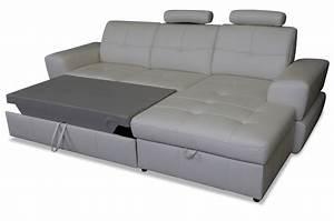 Sofa Mit Schlaffunktion Leder : cotta leder ecksofa milo mit schlaffunktion grau sofas zum halben preis ~ Bigdaddyawards.com Haus und Dekorationen