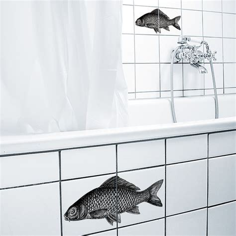 Badezimmer Fliesen Sticker by Sticker F 252 R Fliesen Mit Fisch Fish Tile Sticker By