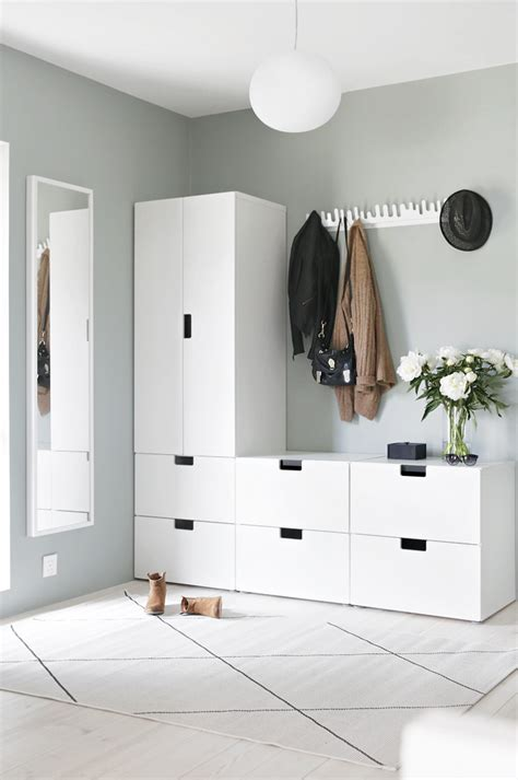 Ikea Flur Einrichten by Garderobe Sch 246 Ner Wohnen Ikea Vorzimmer Flure Und