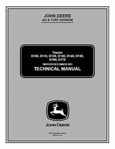 John Deere D100  D110  D120  D130  D140 Service Manual Pdf