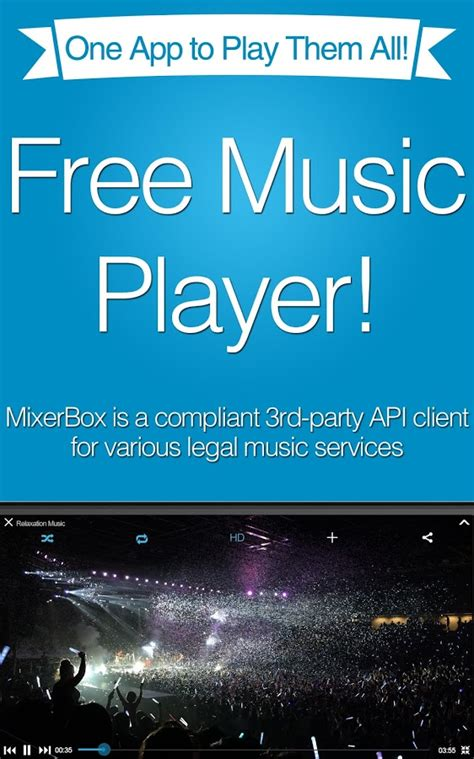 You can download songs up to 320 bits of quality. Free Music MP3 Player(Download LITE for Android - Free download and software reviews - CNET ...