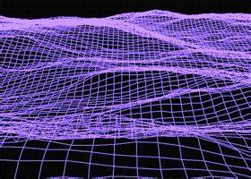trippy pink pixel vaporwave pule art