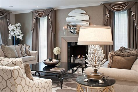 timelessly elegant drawing room  textured neutral