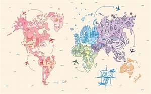 digital world map | Tumblr