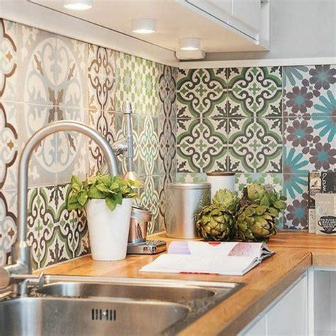 carrelage ancien cuisine le carrelage mural en 50 variantes pour vos murs