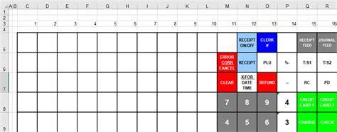 cashregisterstorecom casio te  keyboard template