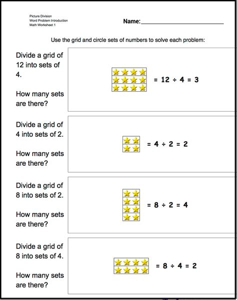 worksheets grouping math worksheet for kindergarten