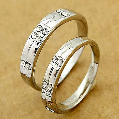 silver wedding couple ring random size a pair promis rings for couples 991896 2019 1 79