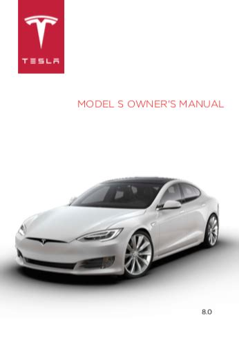 tesla model  owners manual zofti  downloads