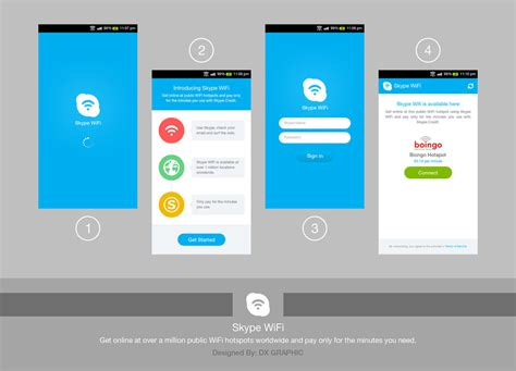 app for android skype wifi android app by dxgraphic on deviantart