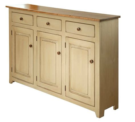country buffet dining cabinet w 3 doors wormy maple amish handmade furniture ebay