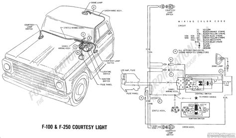 68 Camaro Dome Light Wiring Diagram by Ford Truck Technical Drawings And Schematics Section H