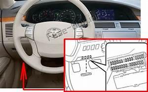 Fuse Box Diagram Toyota Avalon  Xx30  2005