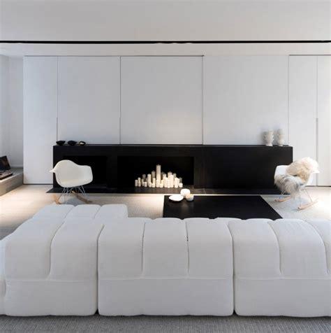 amenagement interieur dun appartement en noir  blanc