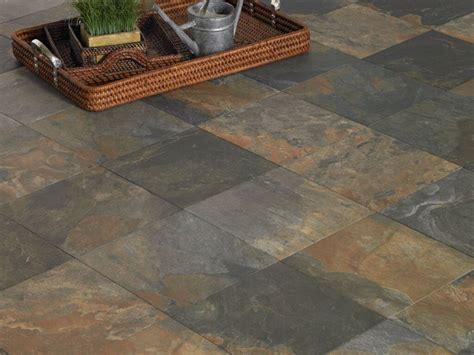 Elegant Rustic Floor Tiles For Interior Decor — Cabinet