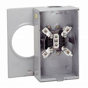 Eaton 200 Amp Single Meter Socket  Coned Approved