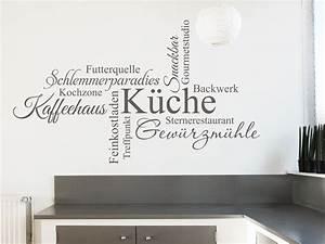Sprüche Für Die Küchenwand : wand in der k che gestalten farbe material k chentrends ~ Sanjose-hotels-ca.com Haus und Dekorationen