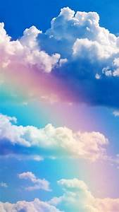 Rainbow and Blue Sky Wallpaper - Free iPhone Wallpapers