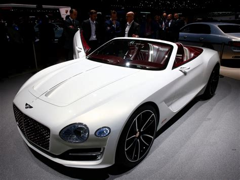 Bentley Unveils First Electric Concept Car