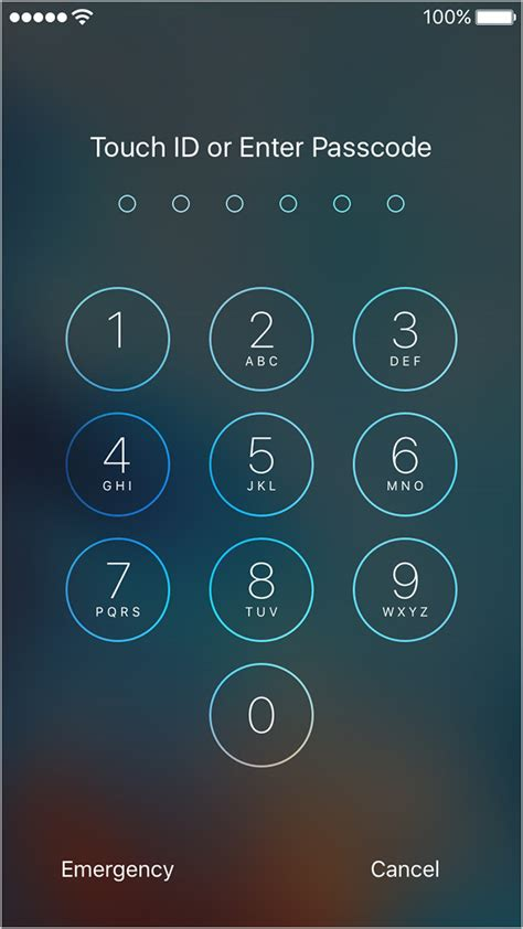 password iphone how to make your iphone and more secure with 6 digit