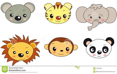animal face illustration stock illustration illustration