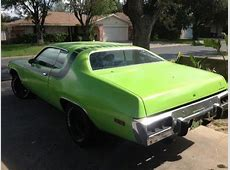 Purchase used 1973 ROADRUNNER RM CODE 400AUTO