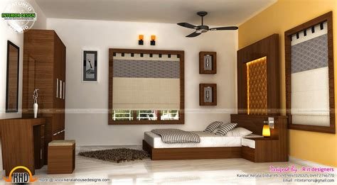 Staircase, Bedroom, Dining Interiors  Kerala Home Design