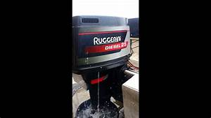 Ruggerini 25hp Diesel Outboard