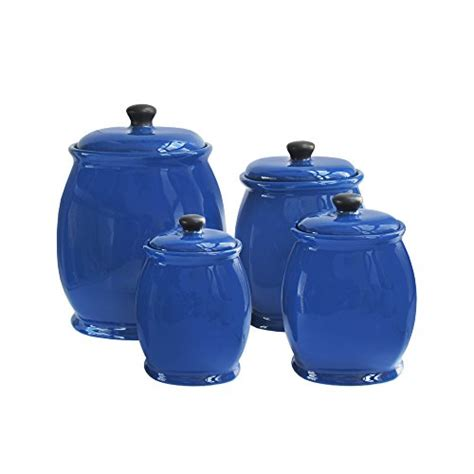 Kitchen Canisters Blue Amazoncom