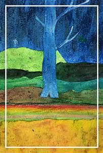 Gli Alberi Azzurri  Gauguin
