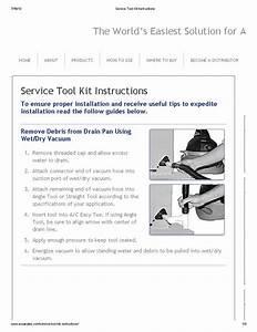 A  C Drain Line Easy Tee Service Kit  U0026 Pvc Service Fitting