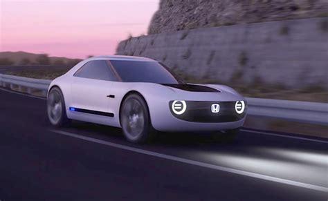 electric car future  filled  fun honda sports