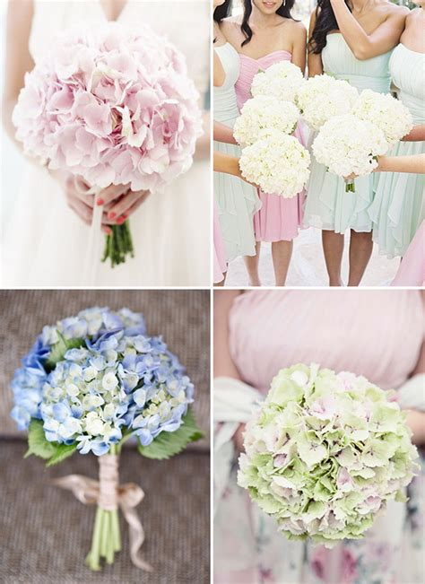 Beautiful Blooms Hydrangea Wedding Ideas