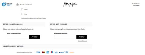 absolutely  nasty gal discount codes