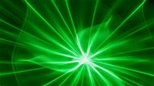 Plasma Green Rays Royalty Free Stock Image